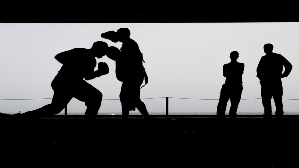 Boxe contre le cancer