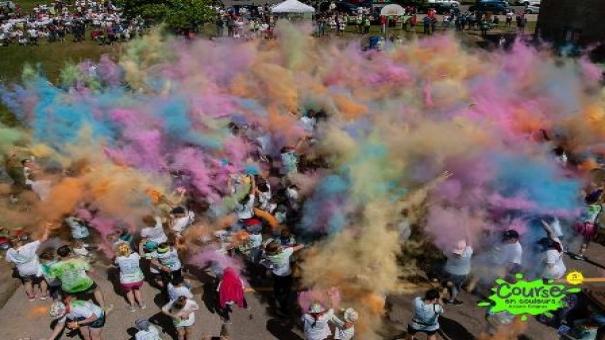 Course en couleurs Ariane Gingras