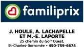Familiprix J. Houle, A. Lachapelle et M-E Laporte